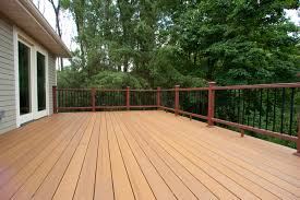 decks designs category the wooden and metallic patio deck