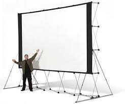 backyard drive in party michigan outdoor movie projector screen