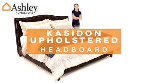ashley homestore kasidon headboard youtube