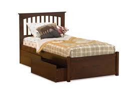 Full Size Captains Bed With Drawers Bedroom Gray Fabric Upholstered Platform Bed Which Furnished With