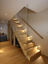 sensational basement stair lighting ideas innovative ideas
