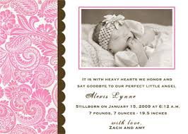 Funeral Service Announcement Wording Memorial Cards Birth Announcements