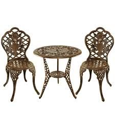 Patio Bistro Table Stone Bistro Table Bistro Sets Patio Dining Furniture The