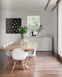 Eames Chair Dining Table Est Magazine 1 Timber Dining Table Eames Chairs And Easy