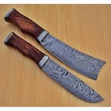 damascus kitchen knives for sale damascus steel chef knife bhloom co