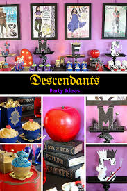halloween gender reveal party ideas how to plan a disney descendants watch party michelle u0027s party