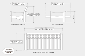 dimensions of a futon frame furniture shop