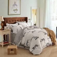 Queen Zebra Comforter Online Get Cheap Plain White Double Bed Sheets Aliexpress Com