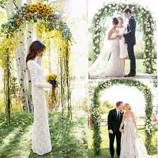 wedding arch ebay australia best 25 metal wedding arch ideas on metallic wedding