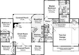 Split Floor Plan by Split Bedroom Ranch House Plans Memsaheb Net