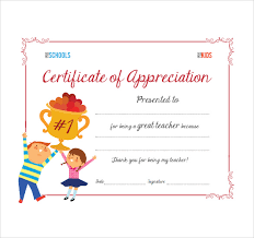 sample thank you certificate template 10 documents download in