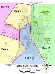 Via Bus Route Map Fulton 58 Summer Bus Routes