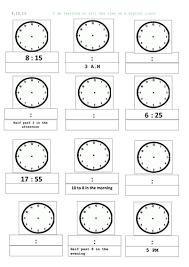time worksheets digital time worksheets ks1 printable