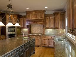 Great Kitchen Cabinets Kitchenswith 2 Colored Wood Mahogany Cabinets With