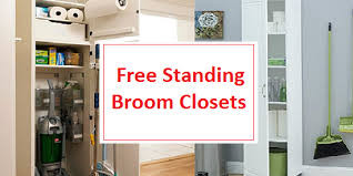 storage cabinets for mops and brooms best free standing broom closet broom and mop storage cabinets 2018