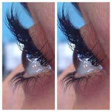 upper and lower eyelash extensions lashes pinterest