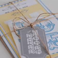 retro seaside wedding invitations by paper dates