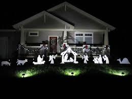 outdoor nativity set yard nativity jen joes