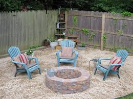fire pit inspiring fire pit sand patio above ground round