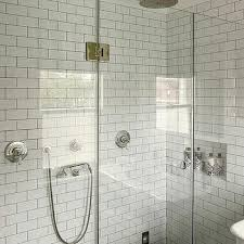 bathrooms with subway tile ideas white subway tile in shower design ideas