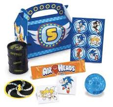 sonic party supplies sonic the hedgehog birthday party favors kids party supplies and