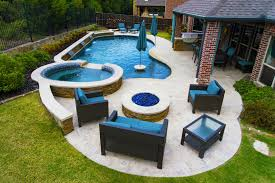 rockwall pool design dallas photo gallery outdoor living