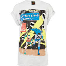 grey batman graphic print t shirt t shirts u0026 vests sale women