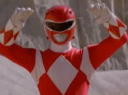 red ranger suit design original red ranger