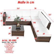 sofa garnitur 3 teilig gã nstig de xinro 19tlg xxxl polyrattan gartenmöbel lounge sofa