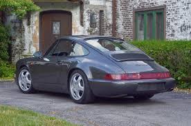 porsche slate grey metallic 1992 row 964 c2 coupe 5 speed slate grey metallic 46k miles