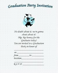 free printable graduation invitations great free templates