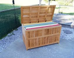 Diy Patio Furniture Plans Diy Plans For An Outdoor Cushion Storage Containers Designs