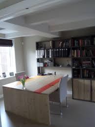 bureau of met bureau met kastenwand steigerhout bedden kasten