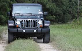 led lights for jeep wrangler jeep wrangler led daytime running light system now available