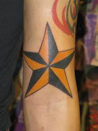 Nautical Star Tattoo Ideas 30 Awesome Star Tattoos For Men Slodive