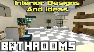 Minecraft Modern Bathroom Cool Bathroom Ideas For Minecraft Minecraft Tutorial How To Make A