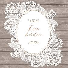Lace Wedding Invitations Lace Border Rustic Wedding Invitation Border Frame Lace Clipart