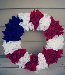 4th of july wreaths patriotic 4th of july decorations patterns to sew sewpin