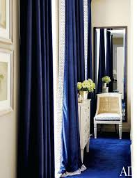 Blue Velvet Curtains Blue Velvet Curtains Blue Curtains In Blue House By Photo By