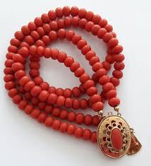 coral necklace antique images Antique old holland precious coral necklace with a gold clasp jpg
