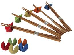 fortune cookies for sale in bulk multi colored four fortune cookie chopsticks rest set of five