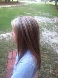 high and low highlights for hair pictures blonde highlights and red low lights over brown hair straightened