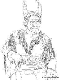 geronimo coloring pages hellokids