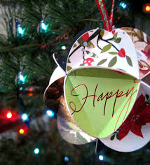 tutorial crafting a card keepsake ornament by