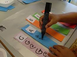 great idea to help your younger kids learn to spell their name