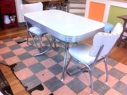 Retro Dining Table And Chairs Dining Table Retro Rectangular Retro Dining Table With