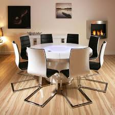 emejing modern white round dining table contemporary house