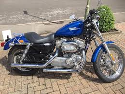beautiful blue 2008 harley davidson sportster in andover