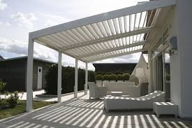 White Vinyl Pergola by White Modern Vinyl Pergola Design For Patio Complete With