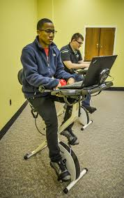 fit desk exercise bike trojan news center troy university